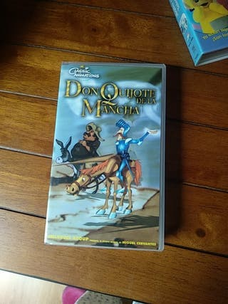 Pelicula don quijote vhs