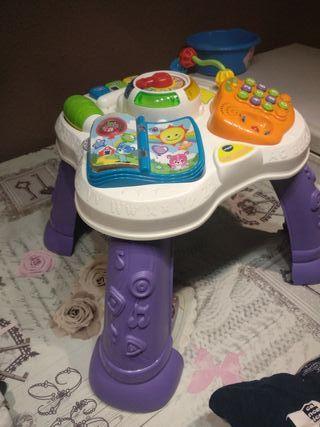 mesa de juegos bebe