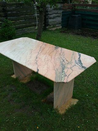 regalo mesa de marmol rosa