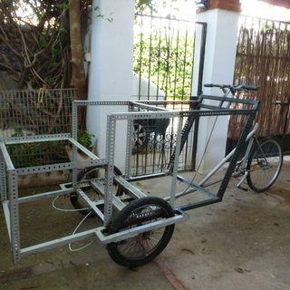 Carro para venta ambulante o transporte