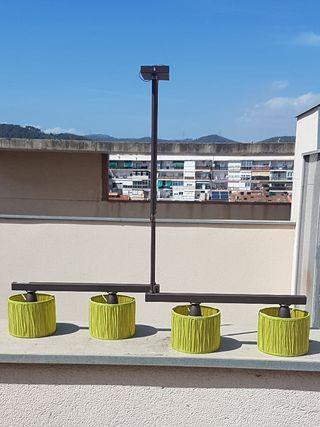 GANGA. Lámpara comedor bajo consumo. PERFECTA