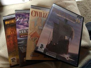 Colección de juegos vintage para PC