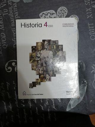 Libro de historia de 4 ESO