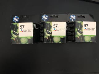 Cartuchos originales HP 57