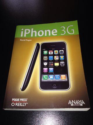 Libro instrucciones iphone 3G raro