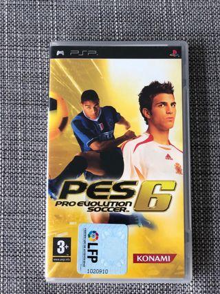 Videojuego PES 6 para PSP