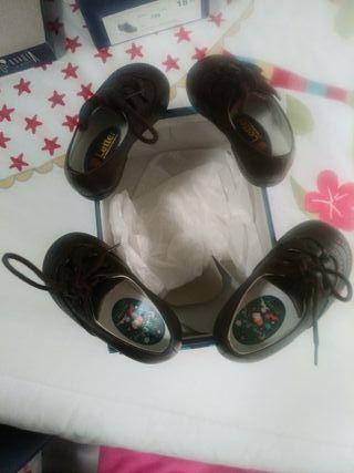 zapatos para mellizas