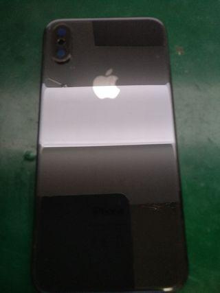 chasis iPhone X negro orginal