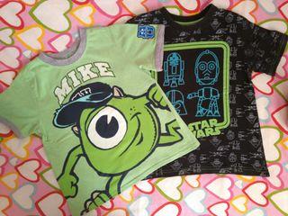 Camisetas niño. Talla 6 años
