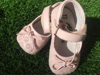 Zapatos bebe rosa n17