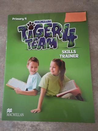Libro Inglés cuarto primaria.