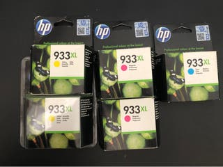 Cartuchos originales HP 933 XL