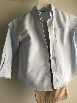 Camisa niño Benetton. T-10