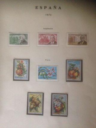 sellos España de1975hasta 1988