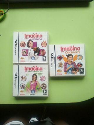 Imagina Ser Juegos Nintendo DS