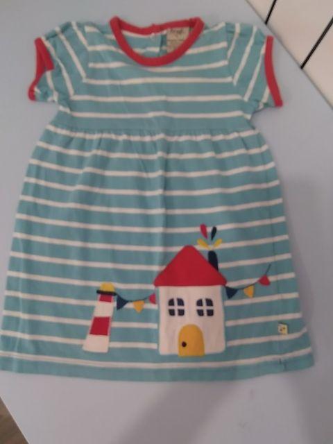 vestido frugi verano talla 12-18 meses