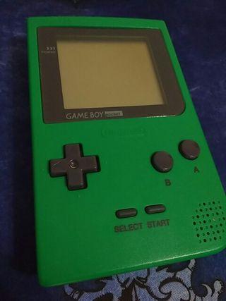 [Consola] Gameboy Pocket (Verde)