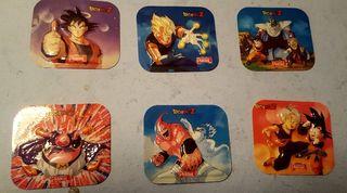 Lote relieves - pegatinas Dragon Ball Z - Pascual