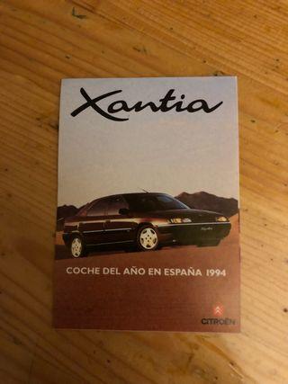 Pegatina Xantia coche del año de españa 1994