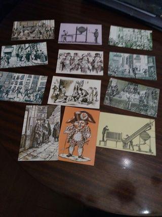 Tarjeta postal Lotería