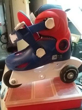 patines en línea de aprendizaje