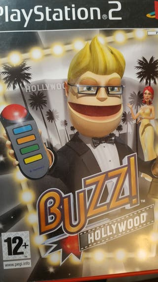 Ps2 buzz hollywood + mandos