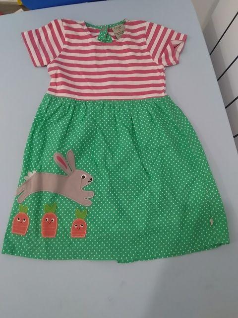 vestido verano fruggi talla 2-3 años