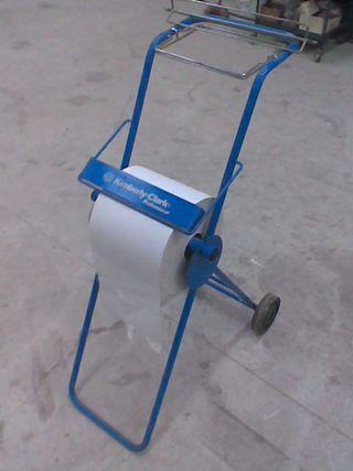 Carro de bobina papel