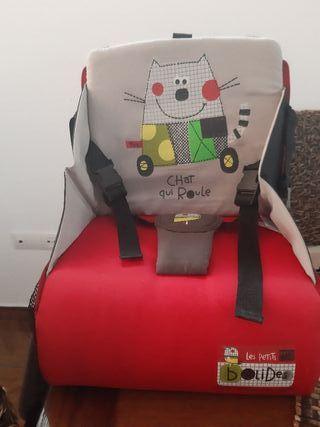 silla portatil para niño