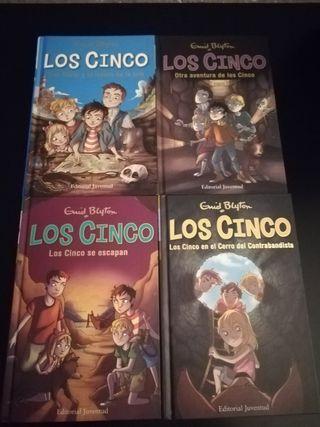 Pack de Libros Los Cinco