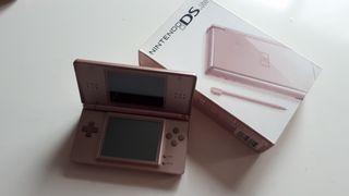 Nintendo DS Lite - Rosa metalizado + 2 fundas