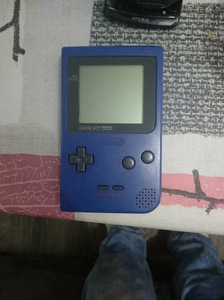 Game boy pocket azul