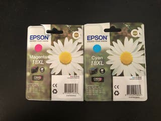 Cartuchos originales EPSON 18 XL