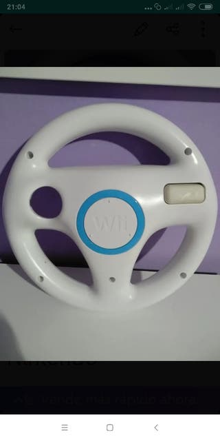 volante original mario kart wii Nintendo