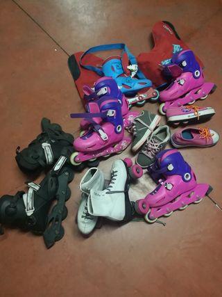 set de patines