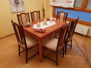 Conjunto de 6 sillas. Clasicas
