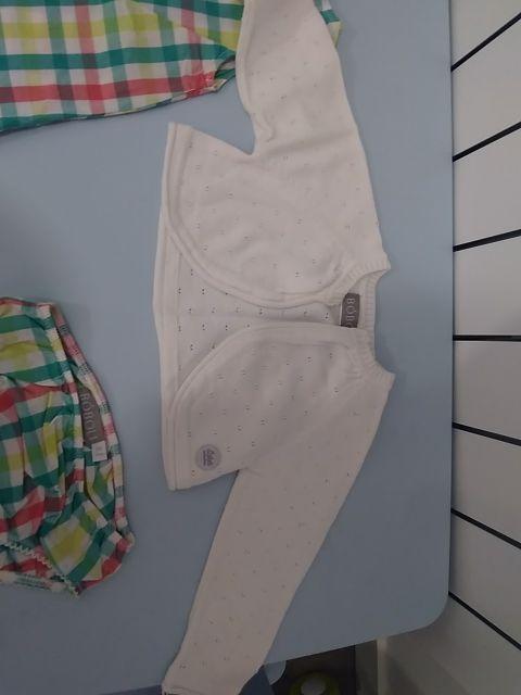vestido verano boboli 9 meses y chaqueta