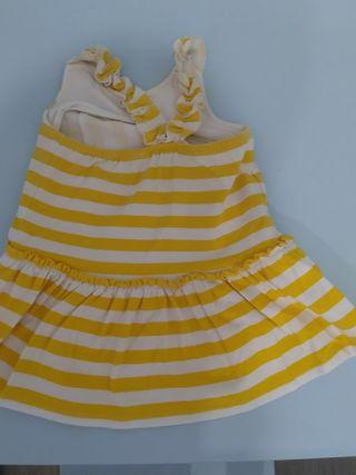 vestido verano tuttopiccolo talla 12 meses