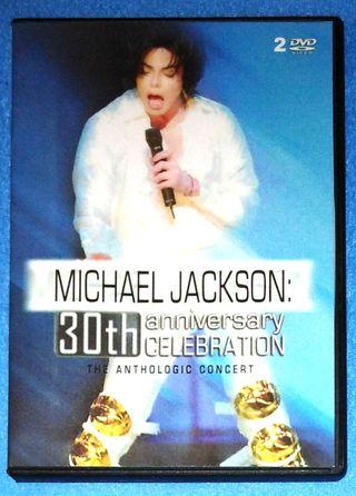 Michael Jackson 2 dvds concierto 30 aniversario