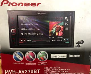 Autorradio Pioneer mvh-av270bt