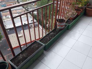 Jardineras de barro