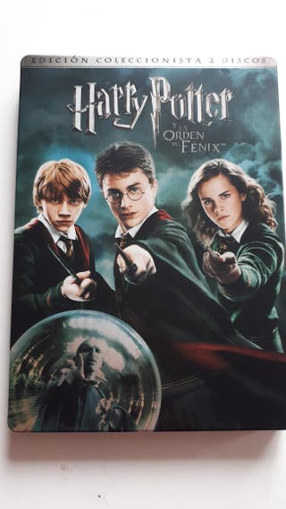 DVDs Harry Potter y la Orden del Fénix