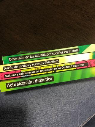 Libros didactica Logoss magisterio educacion