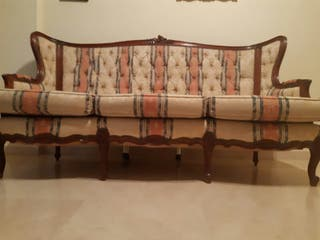 sofa estilo frances
