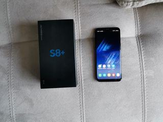 Se vende samsung galaxy s8 plus negro
