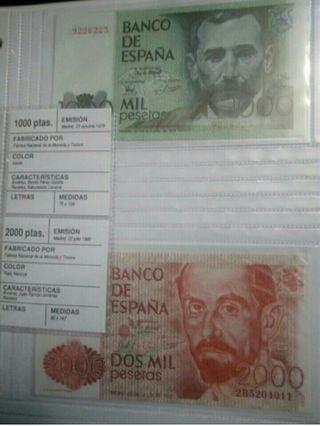 lote Billetes Españoles