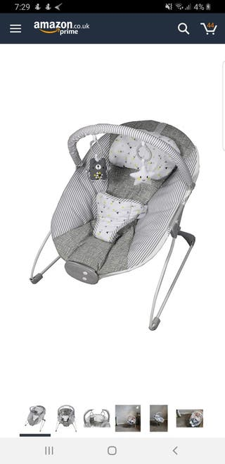 Silver Cross with bag+Bouncer+2 avent dummy