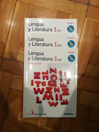 Libro lengua y literatura. 1 ESO