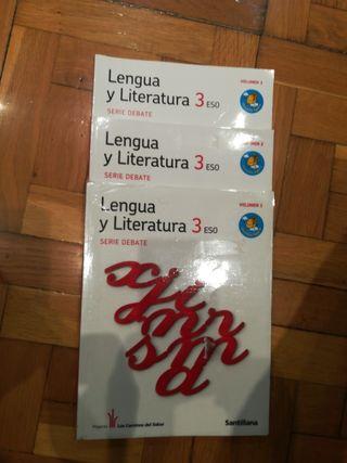 Libro Lengua y literatura. 3 ESO