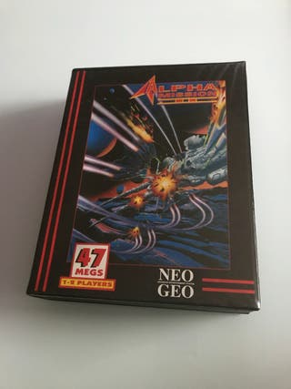Alpha Mission 2 Dog tag neo geo Aes